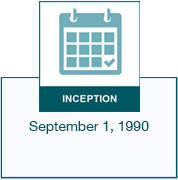 Inception date - September 1, 1990