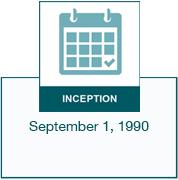 Inception date - September 1, 1990