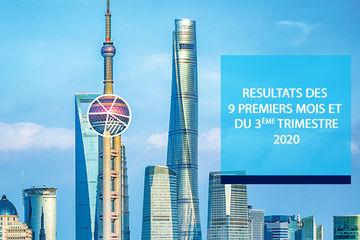 Publication des résultats T3 2020