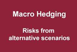 4 Investment pillars - Macro Hedging: risks from alternative scenarios.