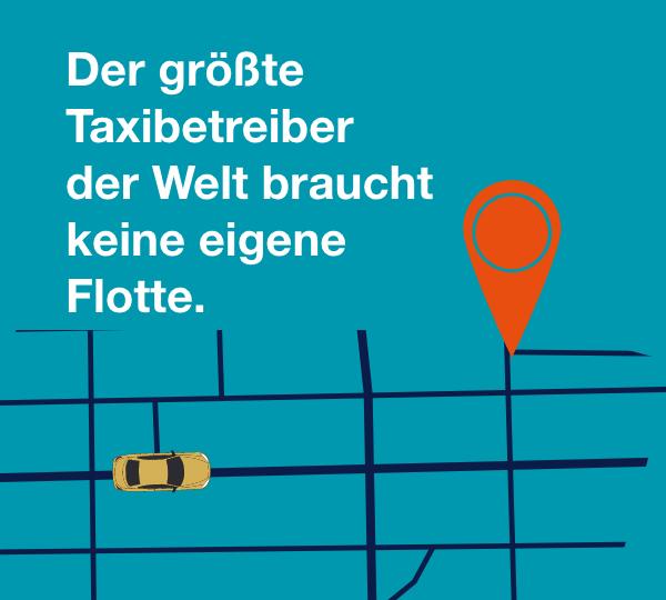 Der größte Taxibetreiber der Welt braucht keine eigene Flotte.