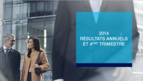 Résultats Amundi T4 et annuels 2014 : une hausse de 11,4% des actifs sous gestion par rapport à décembre 2013