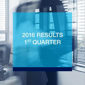 2016 Results 1st quarter
