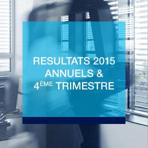 Découvrez les résultats annuels et 4ème trimestre 2015 d'Amundi