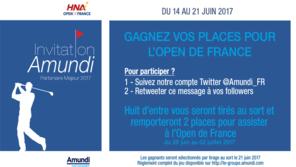 Jeu concours Open de france 2017