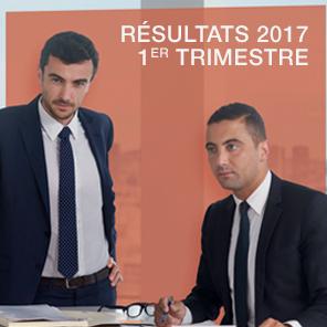 Résultats du 1er trimestre 2017