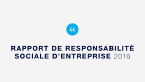 Découvrir le Rapport RSE 2016