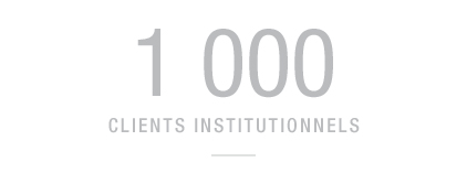 1 000 clients institutionnels