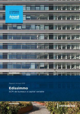 Rapport Annuel 2019 Edissimmo