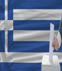 Greece flag poll