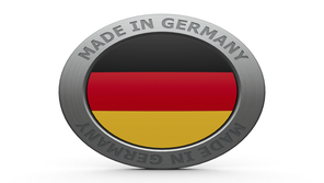 Made in Germany Automobile Industry Flag