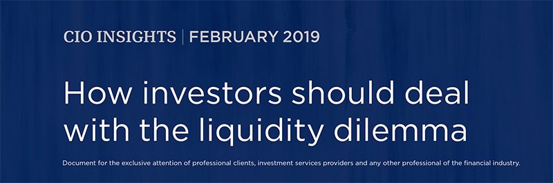 How investors should deal with the liquidity dilemma / 02