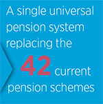 Universal pension system