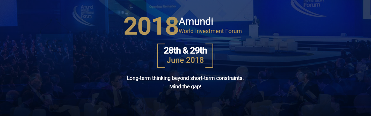 Amundi World Investment Forum 2018