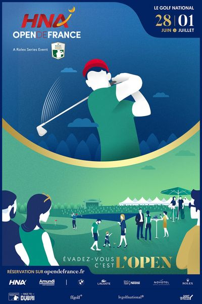 Amundi, sponsor de l'Open de Golf 2018