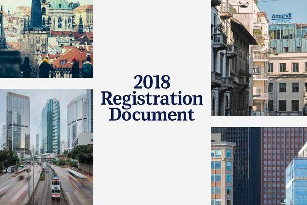 Amundi publishes its 2018 registration document