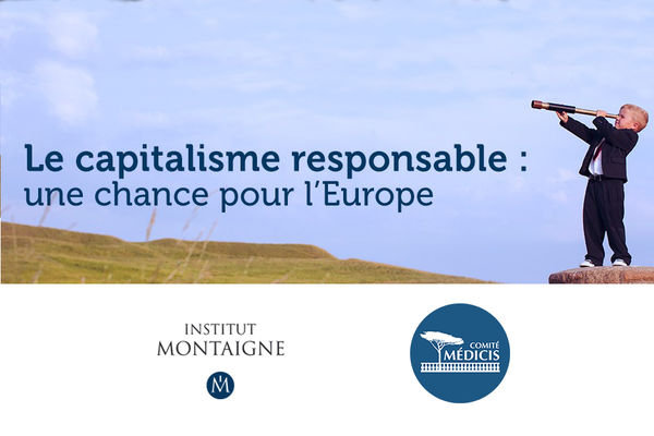 Le capitalisme responsable : une chance pour l'Europe