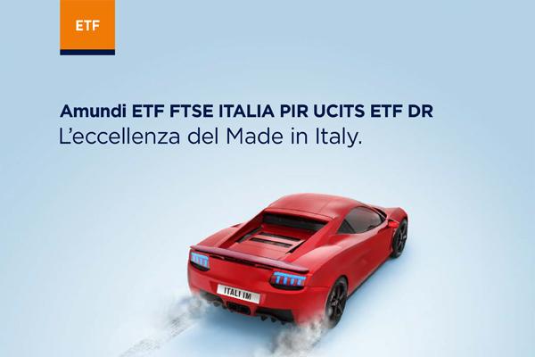 4f3702a4ea Amundi ETF annuncia la quotazione su Borsa Italiana del primo ETF PIR  sull'indice FTSE Italia PIR Benchmark