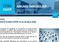 Flashs coronavirus - Amundi Immo