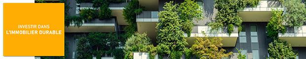 Investir dans l'immobilier durable