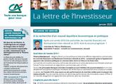 Lettre de l'investisseur - Janvier 2020