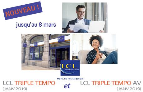 bannière 460x297 LCL Triple Tempo (janv 2019)