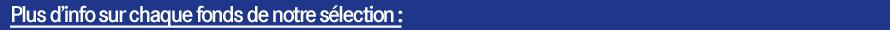 Bandeau bleu infos Select'fonds