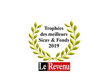 Trophées 2019 Le Revenu meilleurs Sicav et fonds